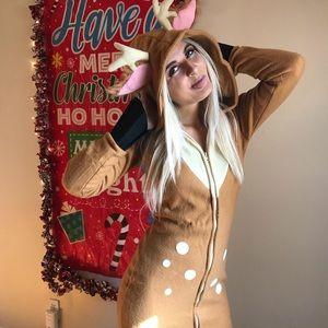 Dresses & Skirts - Santa Con reindeer dress